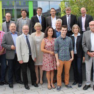 Unterzeichner der Erklärung Bildungsregion Niederrhein