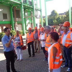 SPD-Kreistagsfraktion Wesel bei der MVA Asdonkshof in Kamp-Lintfort