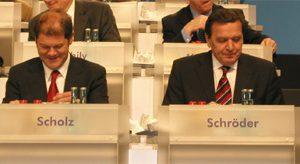 Generalsekretär der SPD und der Bundeskanzler