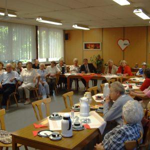 MdB Dr. Hans Ulrich Krüger besucht die SPD Senioren des Stadtverbands Voerde