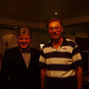 MdB Dr. Hans- Ulrich Krüger mit dem SPD Stadverbandsvorsitzenden Wesel Ludger Hovest